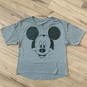 Disney Parks Mickey High Low Top